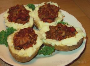 Lamb Stuffed Potatoes Recipe