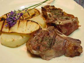 Lavender Lamb Chops Recipe