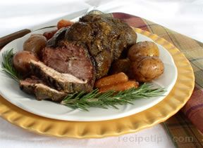 Leg of Lamb for Four Recipe