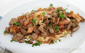 Liver with Bacon and Onions