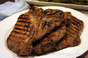 Marinated Steak for Grilling