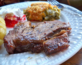 marvelous grilled steak Recipe