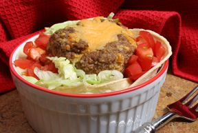 Mini-Mex Meat Loaf