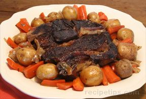 new old fashioned pot roast Recipe