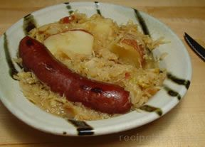One-Pot Sausage and Sauerkraut Dinner