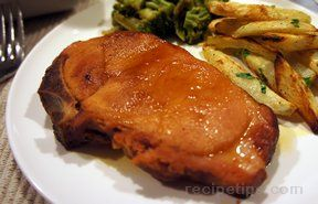 Orange Glazed Pork Chops Recipe