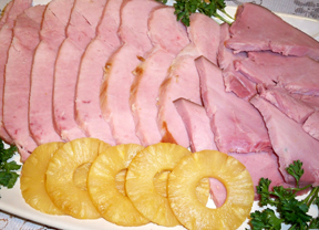 pineapple glazed ham Recipe