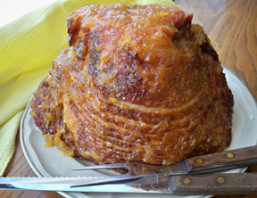 Pineapple Glazed Spiral Ham Recipe