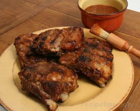 Plum and Apricot Barbeque Ribs