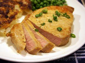 Mustard Pork Chops Recipe