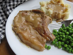 Pork Chops and Gravy Recipe