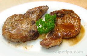 Gingered Pork Chops