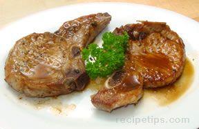 Gingered Pork Chops
