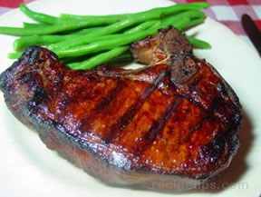 tamari pork chops Recipe