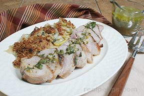 Grilled Pork Tenderloin with Chimichurri Sauce Recipe