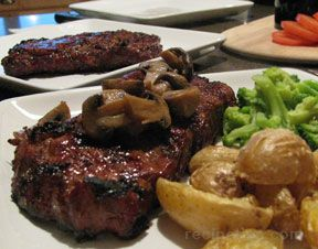 Rib Eye Steaks with Asian Inspired Marinade Recipe