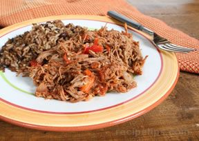 ropa vieja - shredded flank steak Recipe