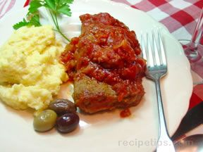 Round Steak with Italian Sauce Recipe