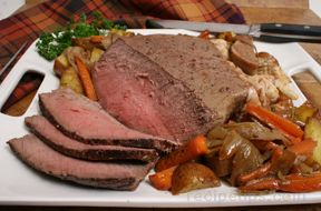 Rump Roast with Vegetables