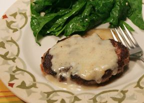 Salisbury Steak with Easy Pan Gravy Recipe