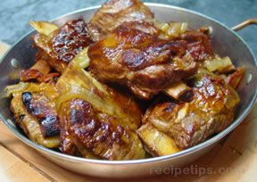 Short Ribs Braised in  Beer Recipe