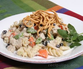 turkey and blueberry pasta salad Recipe
