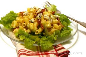Blue Cheese and Bacon Pasta Salad