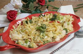 chicken and broccoli alfredo Recipe