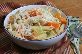 Multigrain Pasta with Sweet Potatoes Recipe