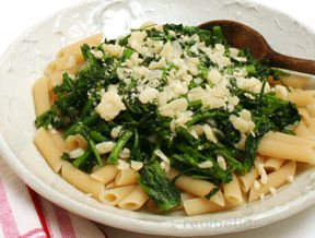 Pasta with Broccoli Raab and Garlic Recipe