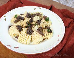 Morel Mushroom Sauce Recipe