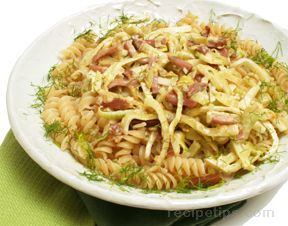 Pasta with Prosciutto and Fennel