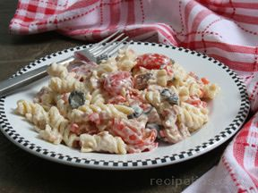 Ranch Pasta Salad Recipe
