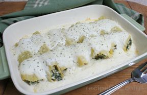 Seafood and Ricotta Cannelloni Recipe