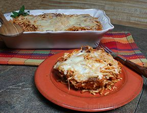 Spaghetti Bake Recipe