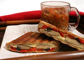 Portobello Panini Sandwich