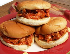 Barbecue Chicken SandwichesnbspRecipe