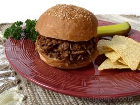 barbecue beef sandwich Recipe