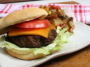 Grilled Cheeseburgers Recipe