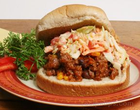 Chipotle Sloppy Joes with Crunchy Cole Slaw Recipe