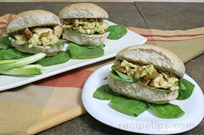 Chutney Curry Chicken Sandwich Recipe