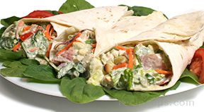 corn on the cob wrap with grilled onion blue cheese dressing Recipe