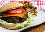 Grilled Cheese Burgers Recipe