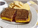 Grilled Cheese with Jam Sandwich Recipe