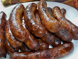 grilled beer brats Recipe