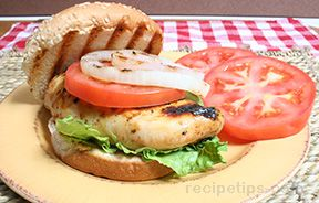 Grilled Caribbean Chicken Sandwich Recipe