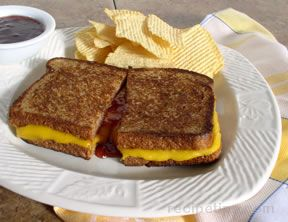 Grilled Cheese with Jam Sandwich