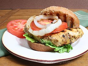 Grilled Peppercorn Chicken Sandwich