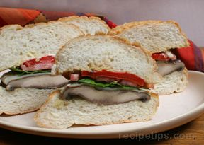 Grilled Portobello Sandwich Recipe