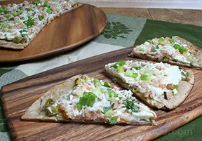 grilled shrimp pizza Recipe